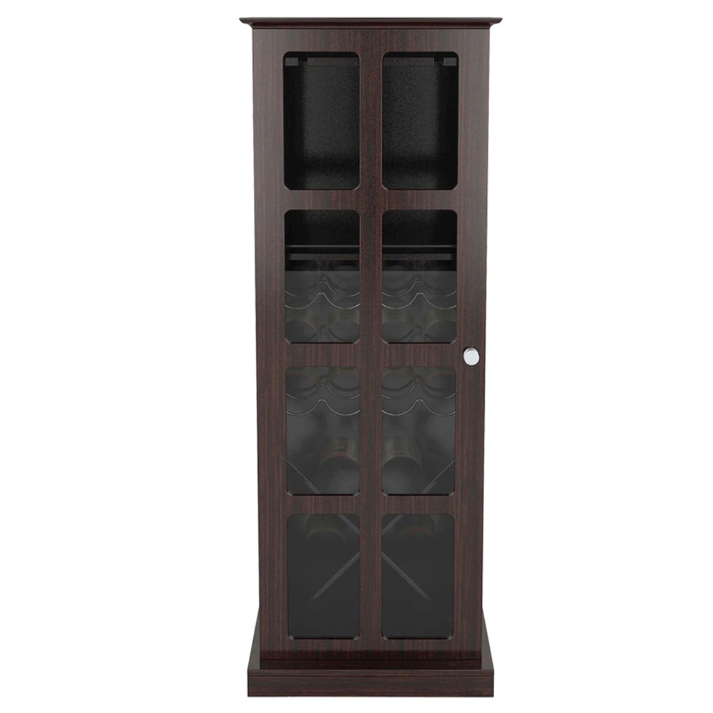 ATLANTIC 94835842 Windowpane 24 Wine Cabinet - Wine Accessories -
