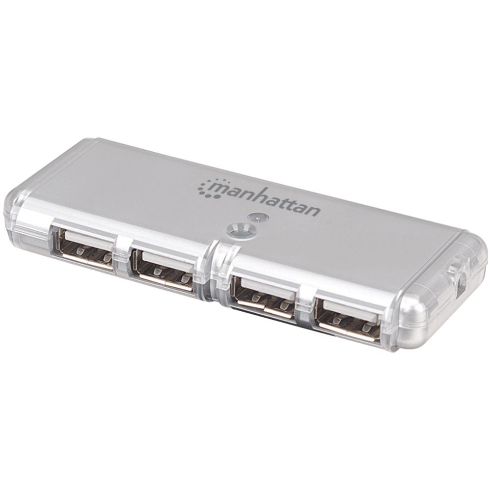 MANHATTAN 160599 4-Port USB 2.0 Hub - Usb Hubs -