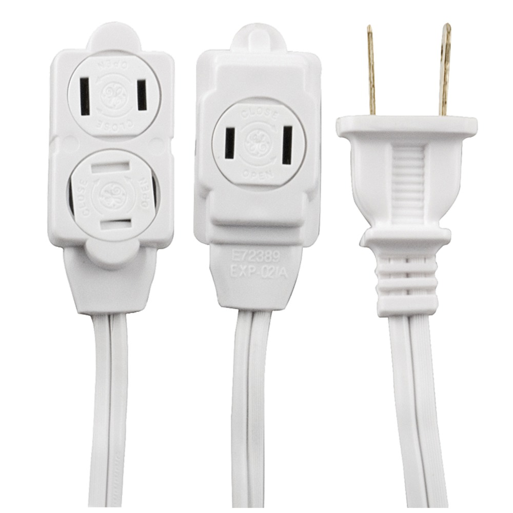 GE 51954 3-Outlet Extension Cord  12ft - Other -