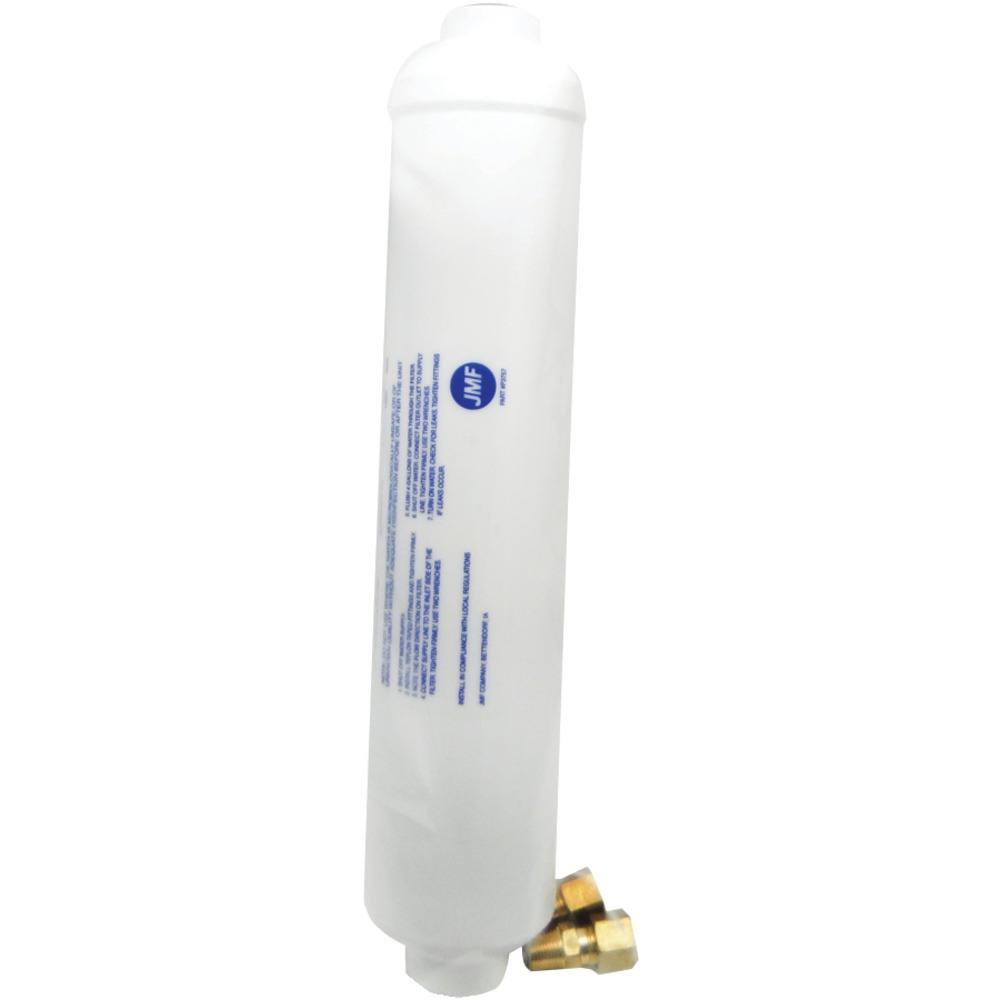 "JMF 1 - 4095825201017 Ice Maker Water Filters (10"" Carded), 10"" filter with brass compression fittings, 1,500 gal, LF409582520101? at Sears.com"