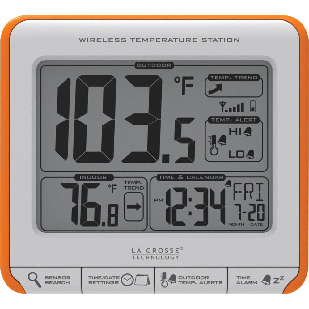 LA CROSSE TECHNOLOGY 308-179OR Wireless Weather Station - Weather Stations -