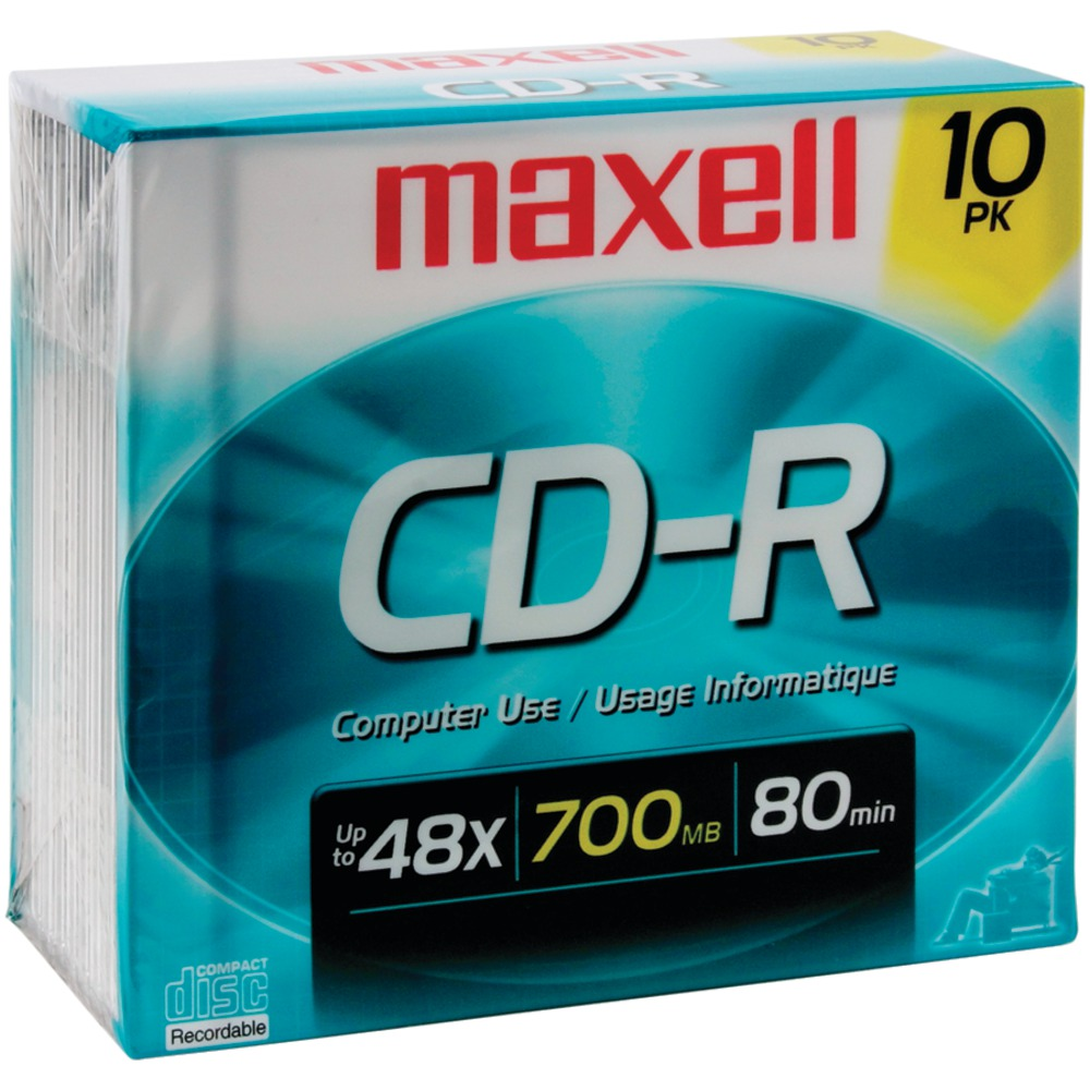 MAXELL 622860/648210 80-Minute/700MB CD-Rs - Other -