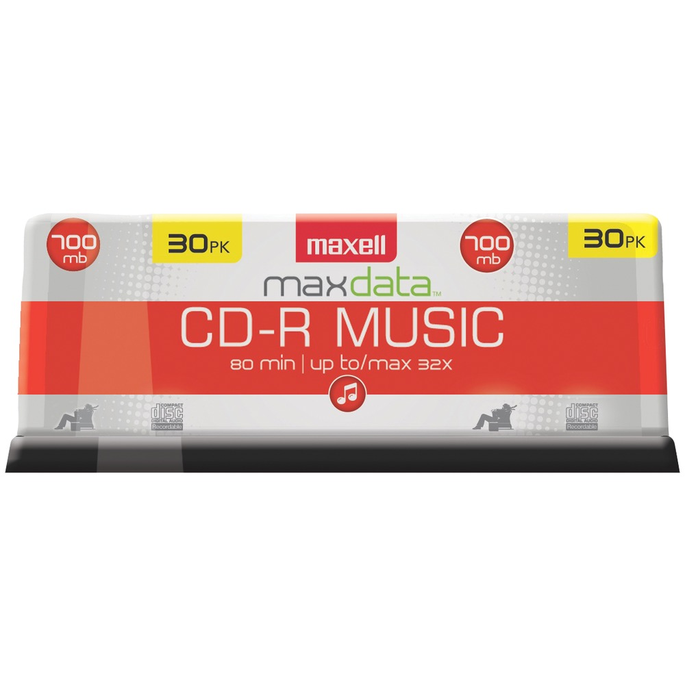 MAXELL 625335 Music CD-Rs (30-ct Spindle) - Other -