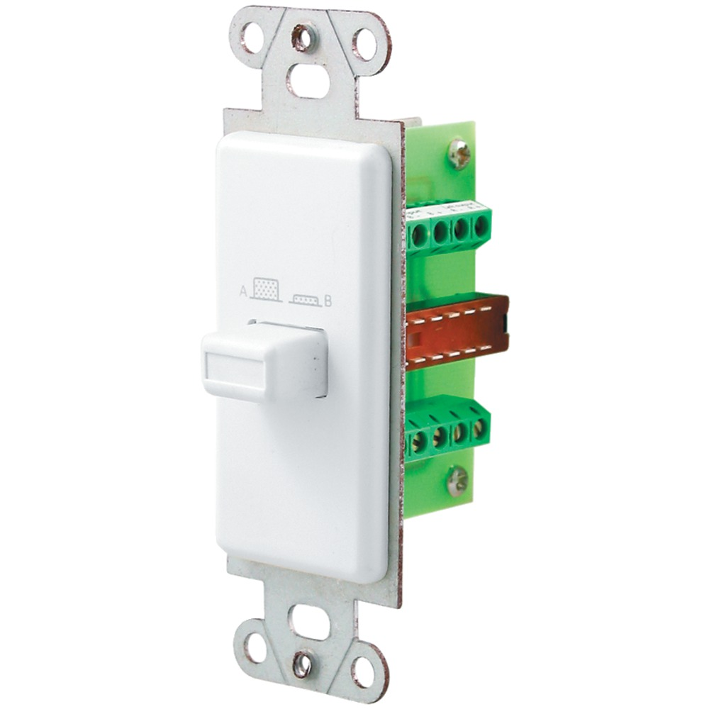 PRO-WIRE IW-101 Source/Speaker Switch (White) - Wall Plates -