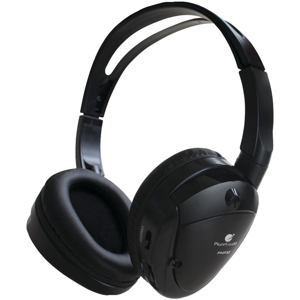 PLANET AUDIO PHP32 Dual-Channel IR Wireless Headphones - Wireless & Ir Headphones -