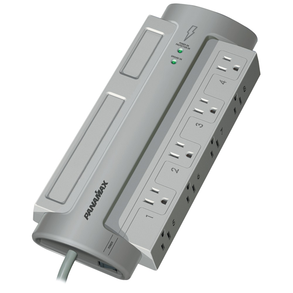 PANAMAX PM8-EX 8-Outlet PowerMax(R) PM8-EX Surge Protector (Without Satellite & - Other -