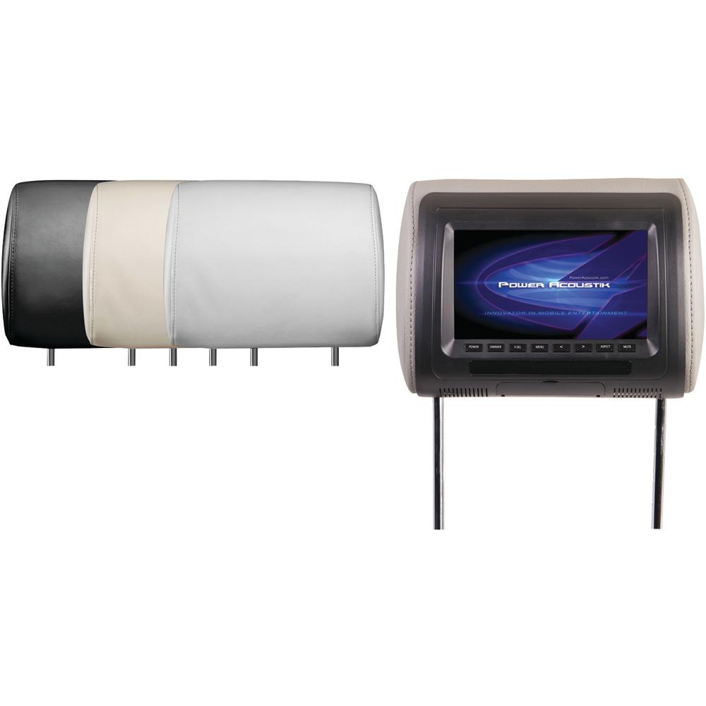 POWER ACOUSTIK H-71CC Universal Headrest Monitor (7