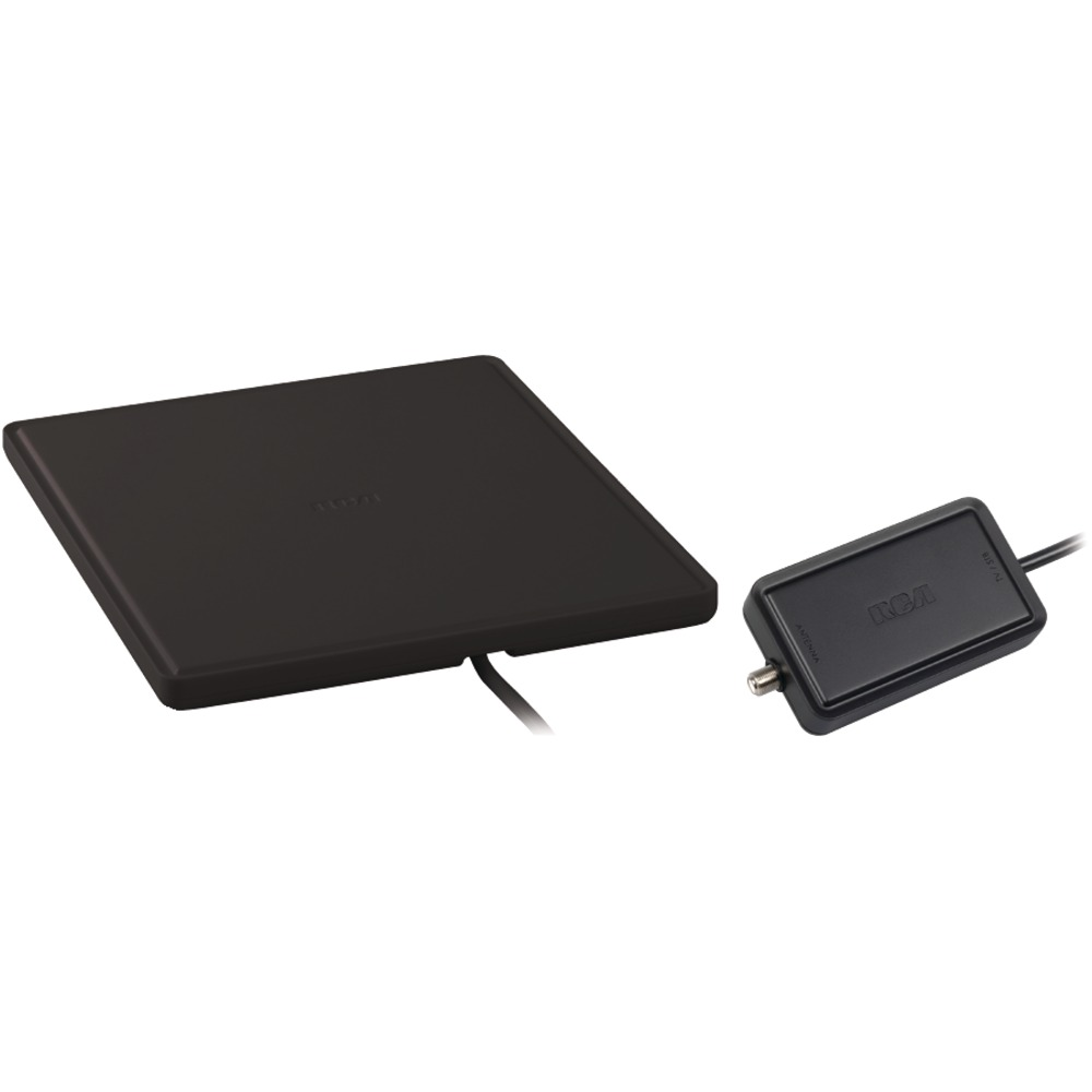 RCA ANT1450BR Home Theater Style Multidirectional Digital Flat Amplified Antenna - Other -