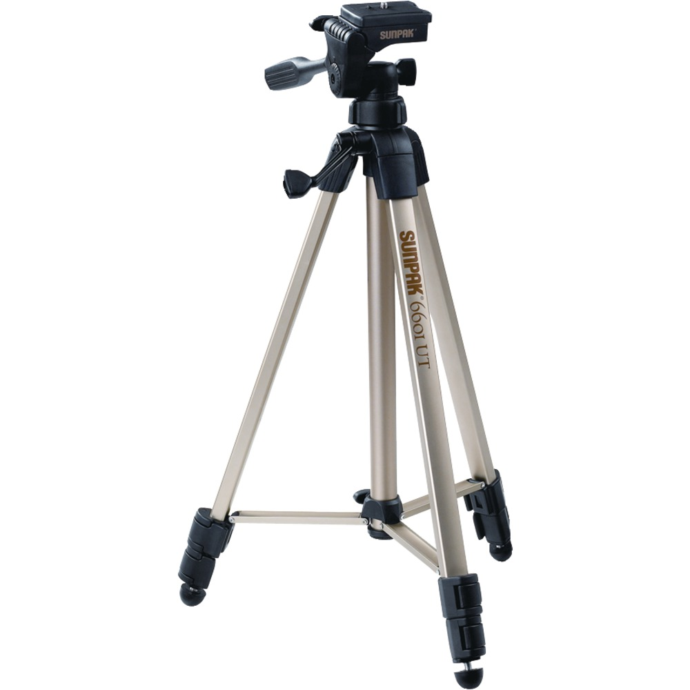 SUNPAK 620-060 Tripods with 3-Way Panhead - Other -