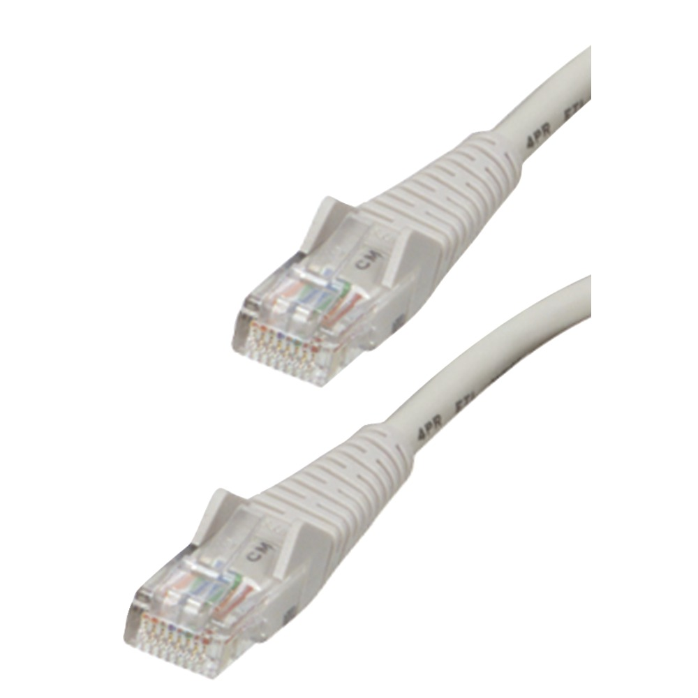 TRIPP LITE N001-014-GY CAT-5/5E Patch Cable (14-ft; Gray) - Other -