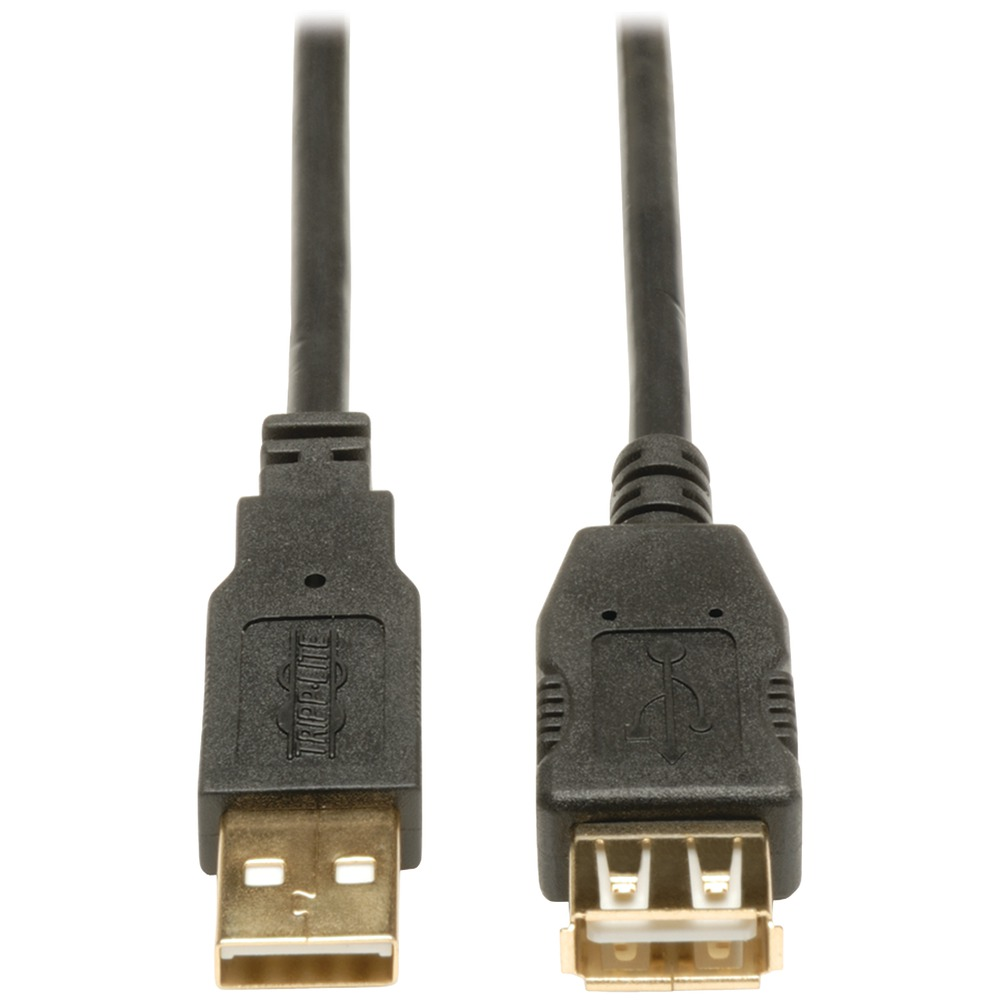 TRIPP LITE U024-010 A-Male to A-Female USB 2.0 Extension Cable (10ft) - Usb Cables -