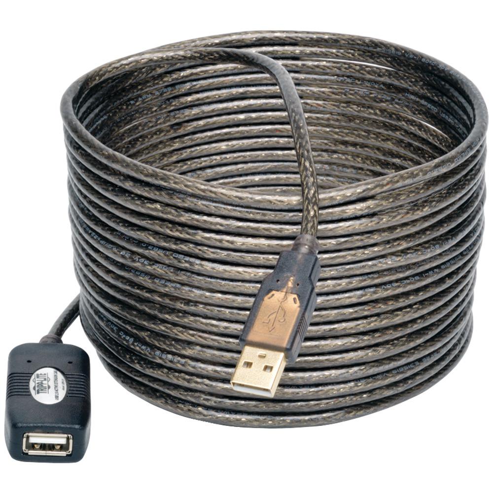 TRIPP LITE U026-016 USB 2.0 Active Extension Cable  16ft - Usb Cables -
