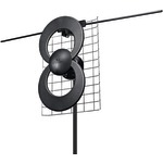 ANTENNAS DIRECT C2-V-CJM ClearStream 2V UHF/VHF Indoor/Outdoor DTV Antenna with 20