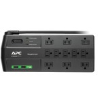 APC P11U2 11-Outlet SurgeArrest(R) Surge Protector with 2 USB Charging Ports