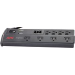 APC P8T3 8-Outlet Essential SurgeArrest(R) Surge Protector (Telephone Protection)