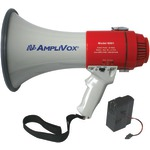AMPLIVOX SB601R Mity-Meg 15-Watt Megaphone (Bundled with rechargeable battery)