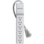 BELKIN BE106000-08R 6-Outlet Home/Office Surge Protector (8ft cord, Rotating Plug)