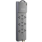 BELKIN BE112230-08 Home/Office Surge Protector (12-Outlet; Telephone & Coaxial Protection)