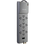 BELKIN BE112234-10 Home/Office Surge Protector (12-Outlet; 1-in/2-out telephone/modem protection; RJ45 & coaxial protection)