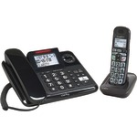 CLARITY 53727.000 AMPLIFIED EXPANDABLE CORDED/CORDLESS PHONE SYSTEM WITH DIGITAL ANSWERING SYSTEM