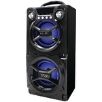 SYLVANIA SP328-BLACK Bluetooth(R) Speaker with Speakerphone (Black)
