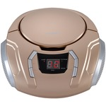 SYLVANIA SRCD261-B-CHAMPAGNE Portable CD Players with AM/FM Radio (Champagne)