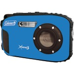 COLEMAN C9WP-BL 20.0 Megapixel Xtreme3 HD/Video Waterproof Digital Camera (Blue)
