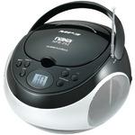 NAXA NPB252BK Portable CD/MP3 Players with AM/FM Stereo (Black)