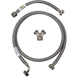 CERTIFIED APPLIANCE STMKIT1 Braided Stainless Steel Steam Dryer Installation Kit