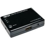 TRIPP LITE B119-003-UHD-MN 3-Port HDMI(R) Mini Switch with Remote Control