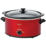 BETTY CROCKER BC-1544C 5-Quart Oval Slow Cooker with Travel Bag