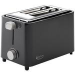 BETTY CROCKER BC-2605CB 2-Slice Toaster (Black)