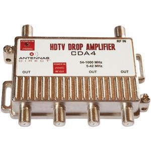ANTENNAS DIRECT CDA4 Output TV/CAT-5 Distribution Amp (4 Way)