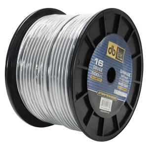 DB LINK STSW16WG500 Superflex Series White/Gray Speaker Wire (16 Gauge, 500ft)