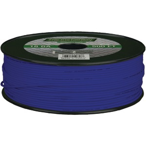 INSTALL BAY PWBL18500 18-Gauge Primary Wire, 500ft (Blue)