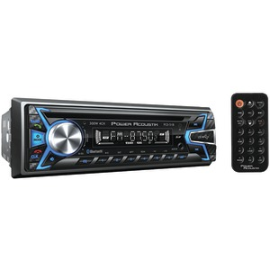 POWER ACOUSTIK PCD-51B Single-DIN In-Dash CD/MP3 AM/FM Receiver with USB Playback (With Bluetooth(R))