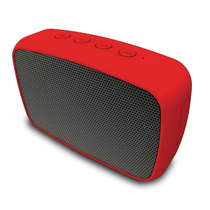 EMATIC ESQ206RD Rugged Life NOIZE Bluetooth(R) Speaker (Red)