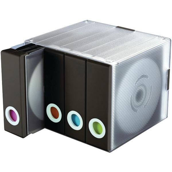 Atlantic(R) 96635496 96-Disc Album Cube (Black)