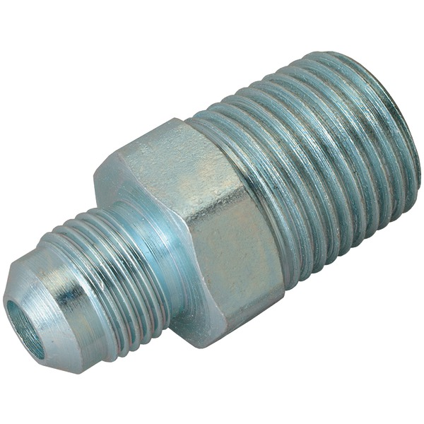 """BrassCraft(R) AU2-6-8S 3/8"""" Steel Gas Fitting (1/2"""" MIP)"""