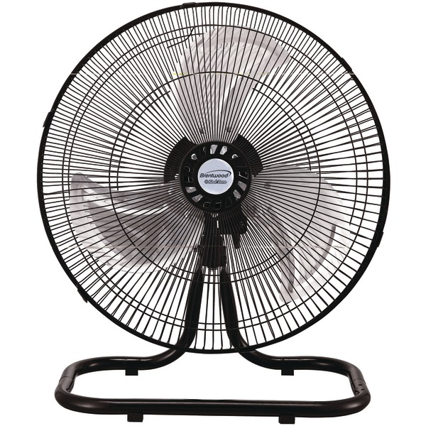 "Brentwood Kool Zone F-1831B 18"" Industrial 3-in-1 Fan"