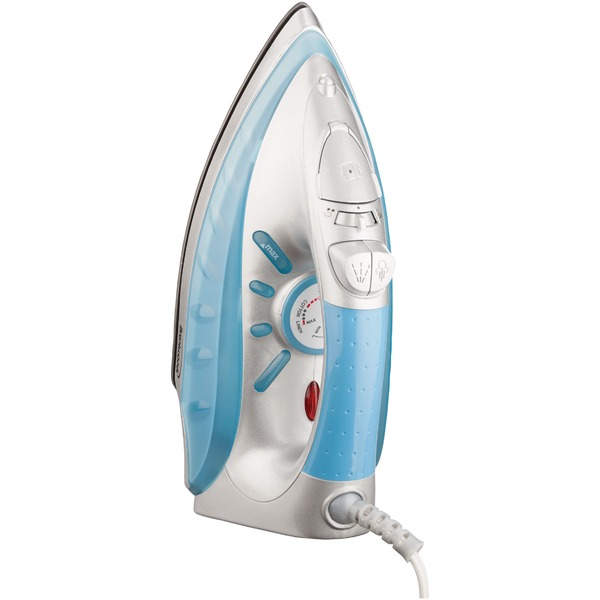 Brentwood MPI-60 Nonstick Steam/dry Spray Iron With Silver Finish