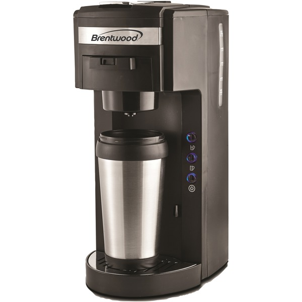 BRENTWOOD TS-114 Single-Serve Black Coffee Maker