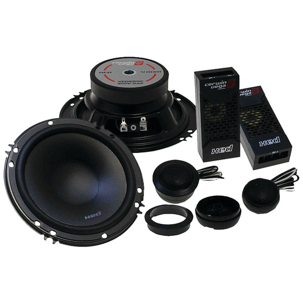 "Cerwin-Vega(R) Mobile XED525C XED Series 5.25"" 300-Watt 2-Way Component Speaker System"