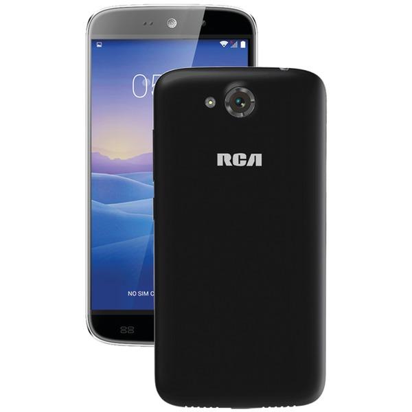 "RCA(R) RLTP5567-BLACK 5.5"" Android(TM) Quad-Core Smartphone (Black)"