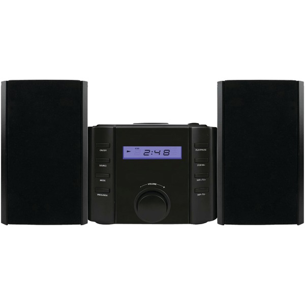 SYLVANIA(R) SRCD804BT Bluetooth(R) CD Microsystem with Radio