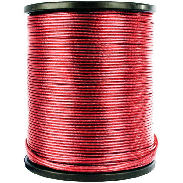 DB LINK STPW8R250Z SOFT TOUCH POWER WIRE (8 GAUGE, RED, 250-FT ROLL)