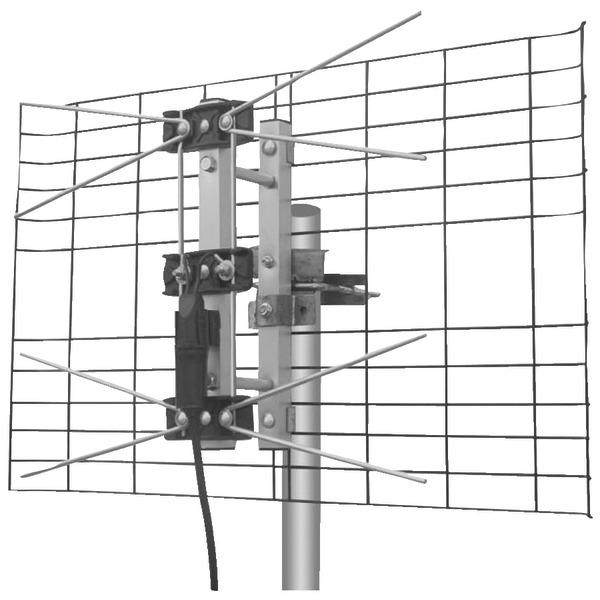 Eagle Aspen(R) DTV2BUHF DIRECTV(R)-Approved 2-Bay UHF Outdoor Antenna