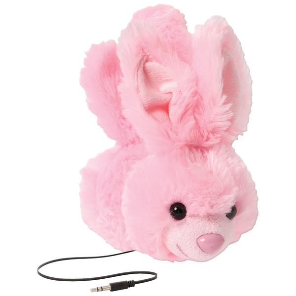 ReTrak(R) ETAUDFBNY Retractable Animalz Headphones (Bunny)