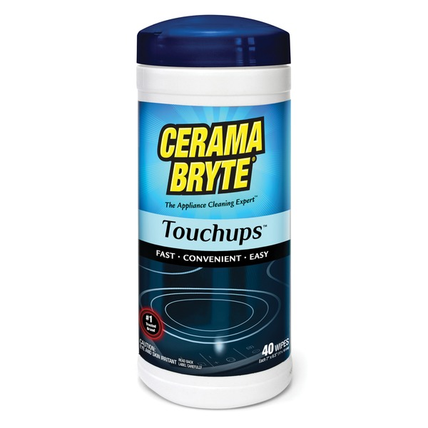Cerama Bryte(R) 23635 Cooktop Touch-up Wipes, 40-ct