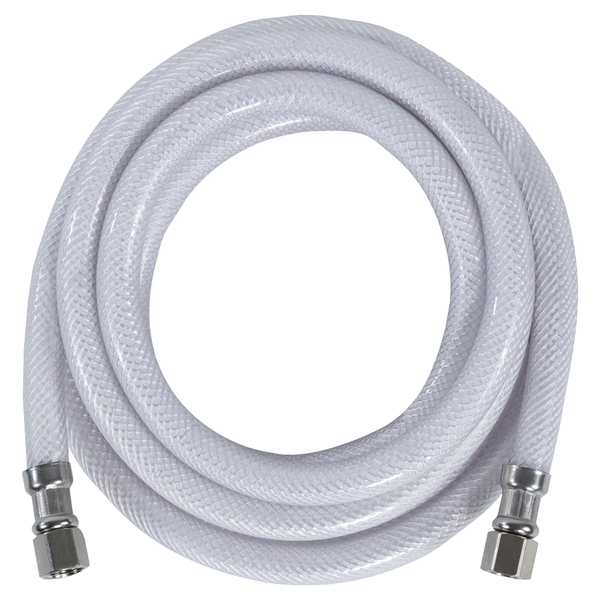 "Certified Appliance Accessories(R) IM120P PVC Ice Maker Connector with 1/4"" Compression, 10ft"